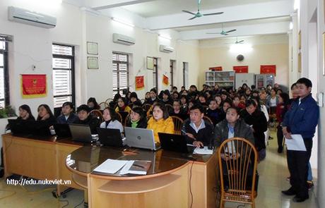 Tập huấn triển khai NukeViet tại Phòng Giáo dục và Đào tạo Hà Đông - Hà Nội